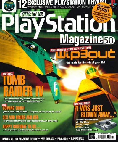 Official UK PlayStation Magazine Issue 050 (October 1999)