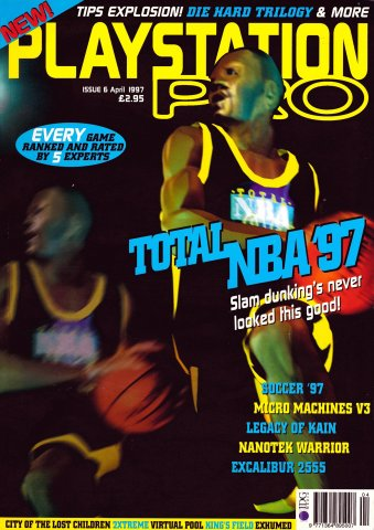PlayStation Pro Issue 06 (April 1997)