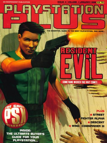 PlayStation Plus Issue 004 (January 1996)