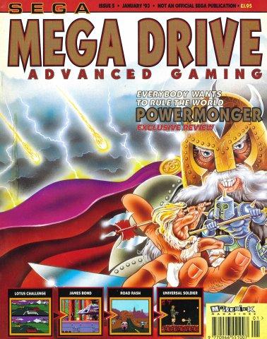 Mega Drive Advanced Gaming 05 (January 1993)