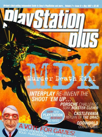 PlayStation Plus Issue 020 (May 1997)