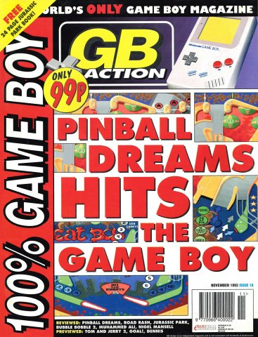 GB Action Issue 18 (November 1993)