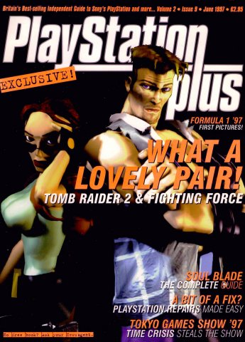 PlayStation Plus Issue 021 (June 1997)