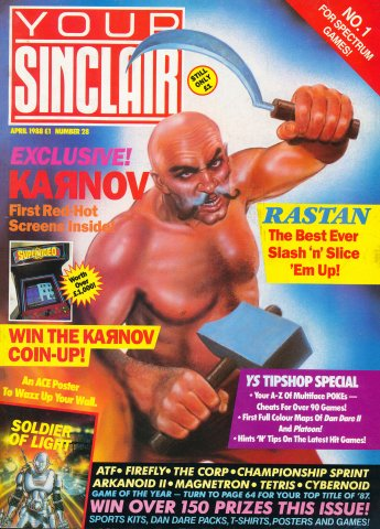 Your Sinclair Issue 28 (April 1988)