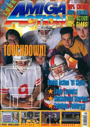 Amiga Action 017 (February 1991)