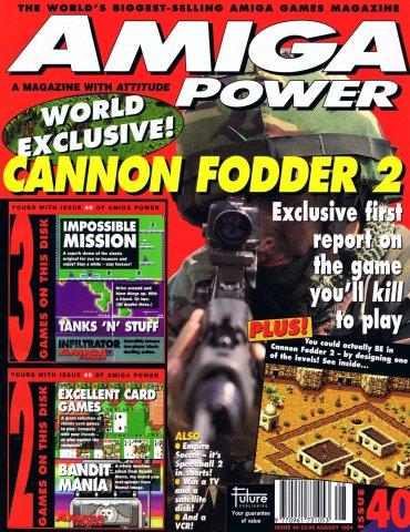 Amiga Power Issue 40 (August 1994)