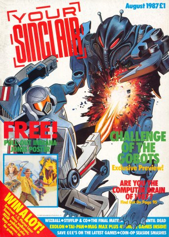 Your Sinclair Issue 20 (August 1987)