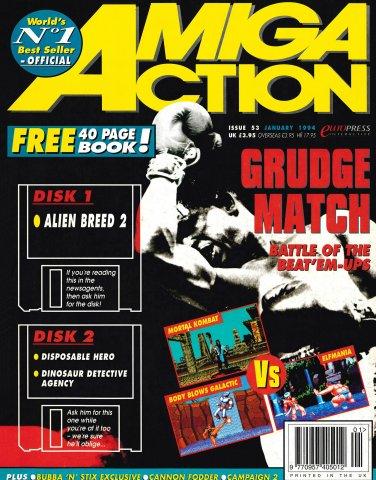 Amiga Action 053 (January 1994)