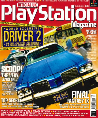Official UK PlayStation Magazine Issue 056 (March 2000)