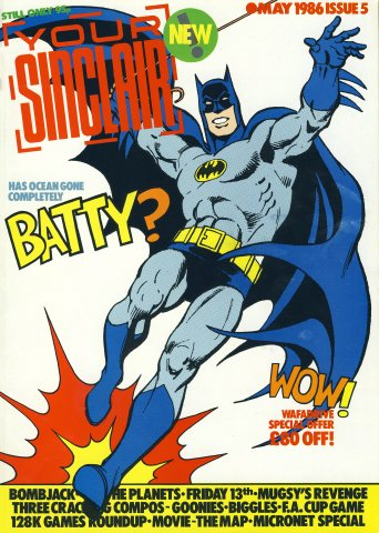 Your Sinclair Issue 05 (May 1986)