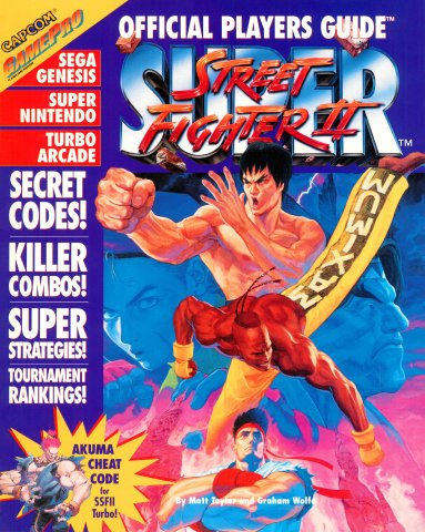Super Street Fighter II Official Players Guide (1994)
