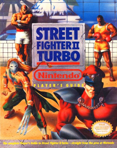Street Fighter II Turbo Nintendo Player's Guide