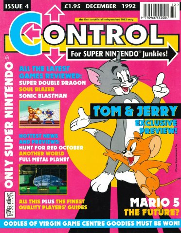 Control Issue 4 (December 1992)