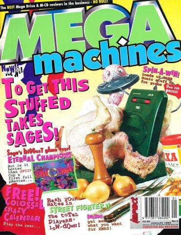 Mega Machines Issue 02 (January 1994)