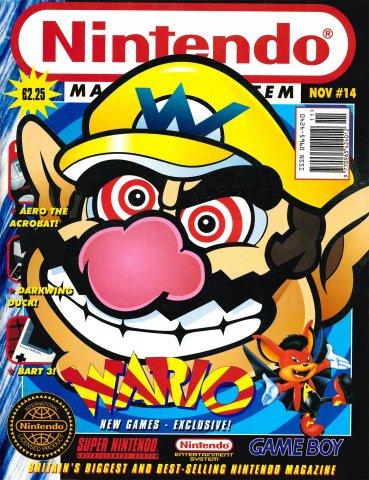Nintendo Magazine System 014 (November 1993)