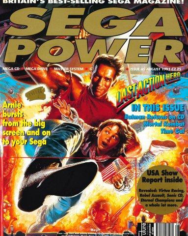 Sega Power Issue 45 (August 1993)