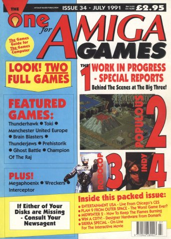 The One 034 (July 1991)