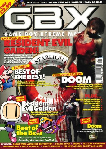 GBX Issue 07 (January 2002)