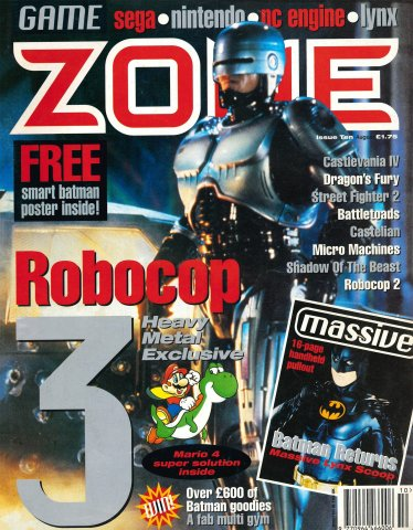 Game Zone Issue 10 (August 1992)