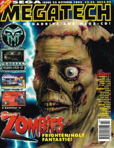 MegaTech 22 (October 1993)