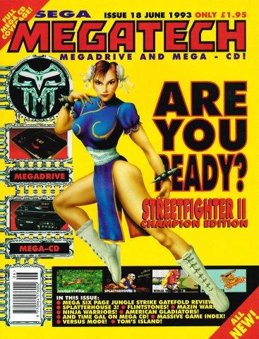 MegaTech 18 (June 1993)
