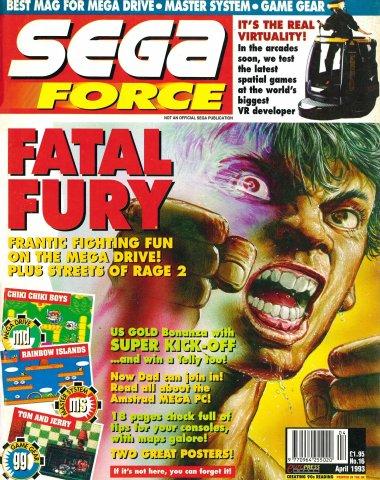 Sega Force 16 (April 1993)