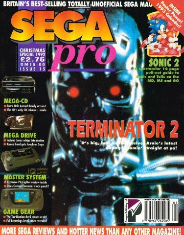 Sega Pro 15 (Christmas 1992)
