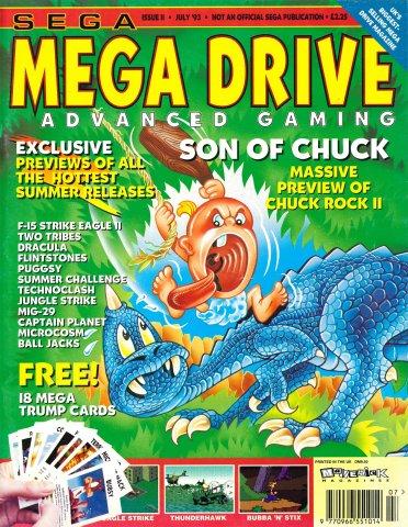 Mega Drive Advanced Gaming 11 (July 1993)