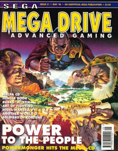 Mega Drive Advanced Gaming 21 (May 1994)