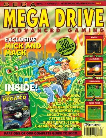 Mega Drive Advanced Gaming 07 (March 1993)
