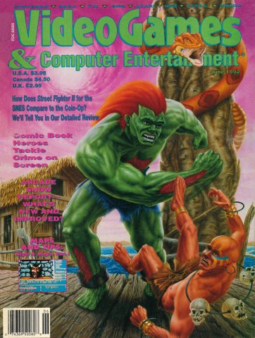 Video Games & Computer Entertainment Issue 41 June 1992