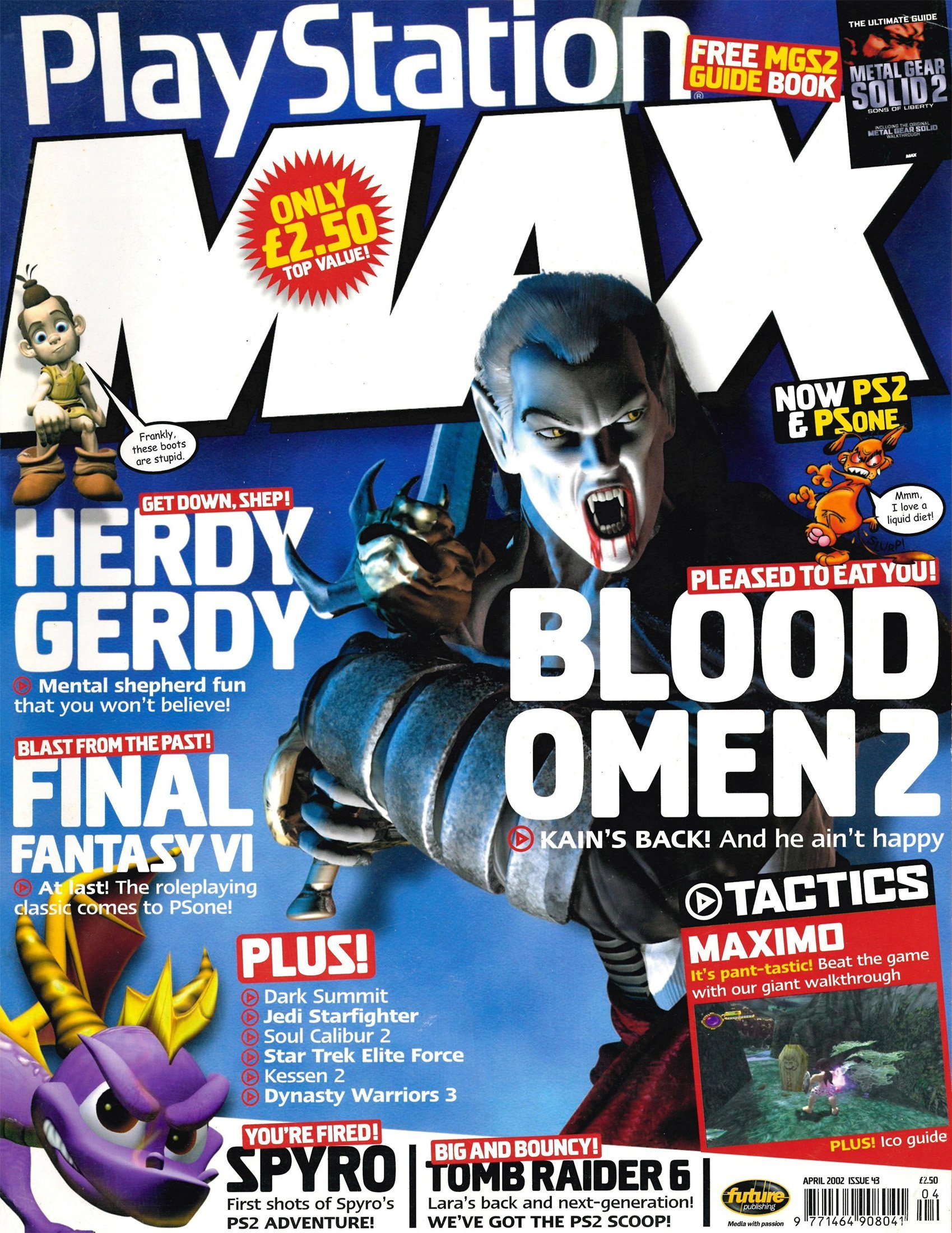 Playstation Max Issue 43 (April 2002)