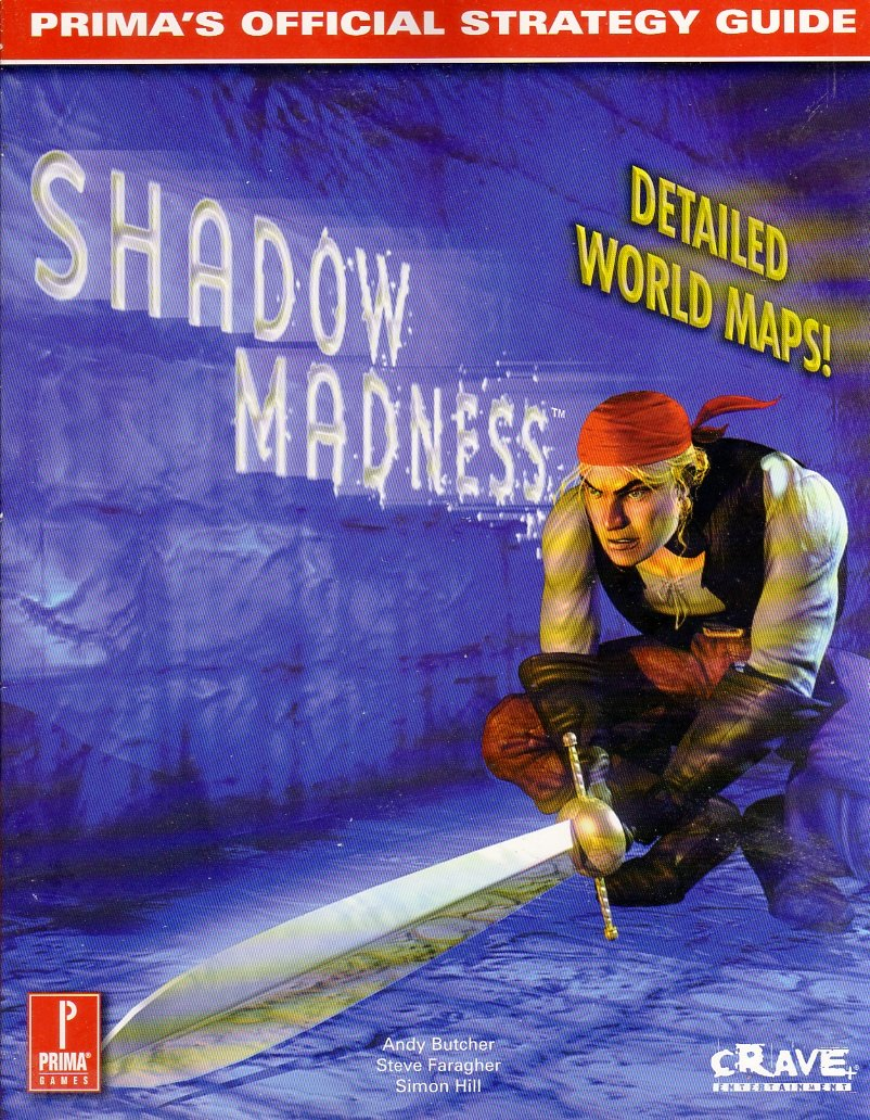 Shadow Madness Official Strategy Guide