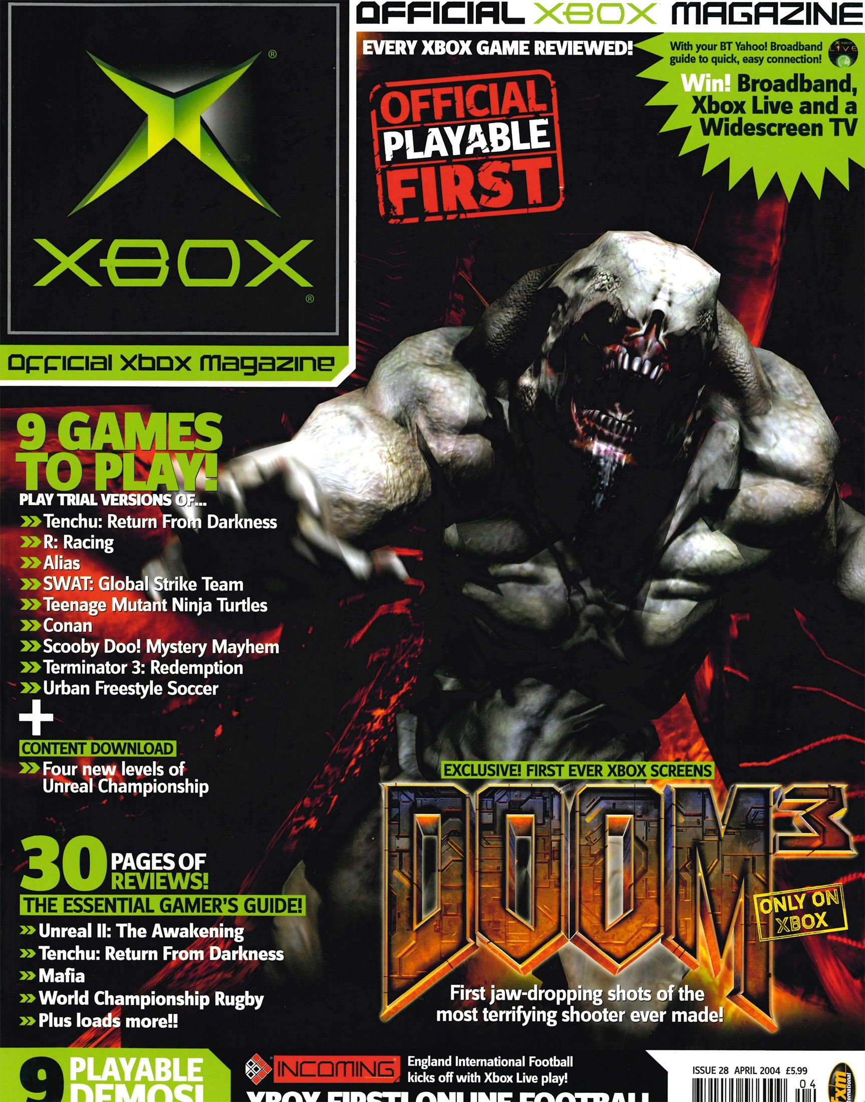 Official UK Xbox Magazine Issue 28 - April 2004