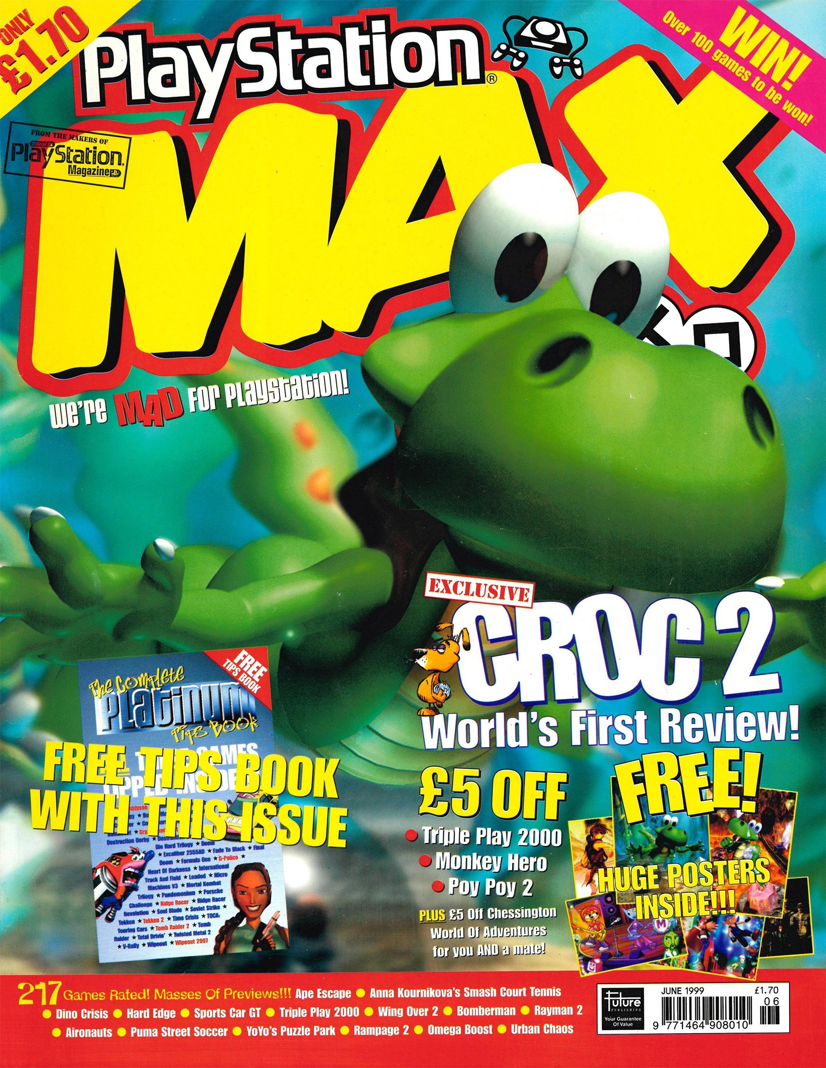 Playstation Max Issue 06 (June 1999)