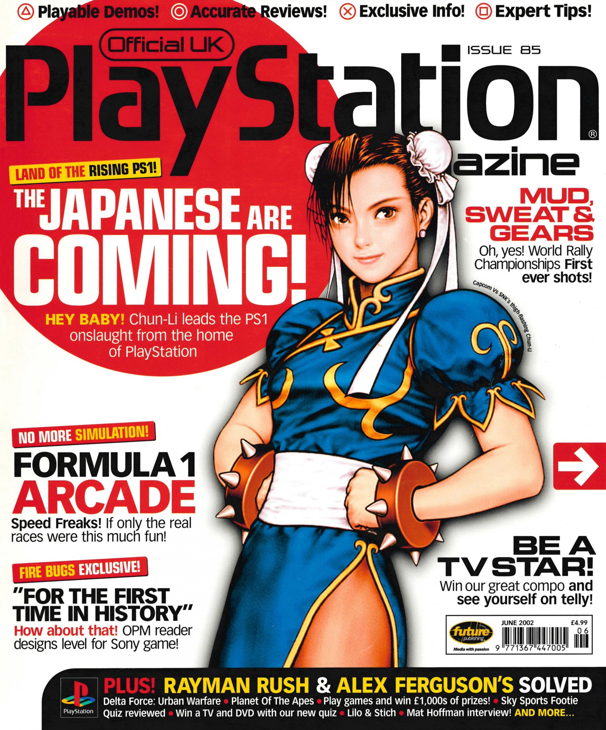 Official UK PlayStation Magazine Issue 085 (June 2002)