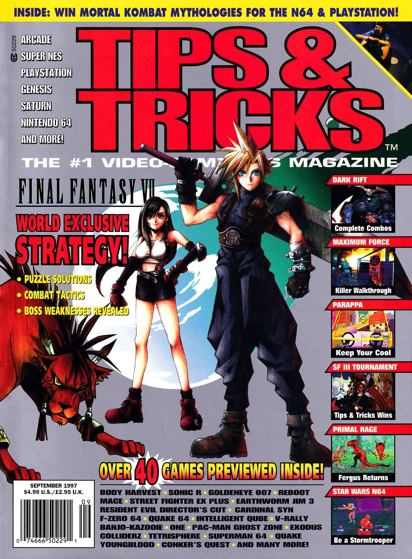 Tips & Tricks Issue 031 September 1997