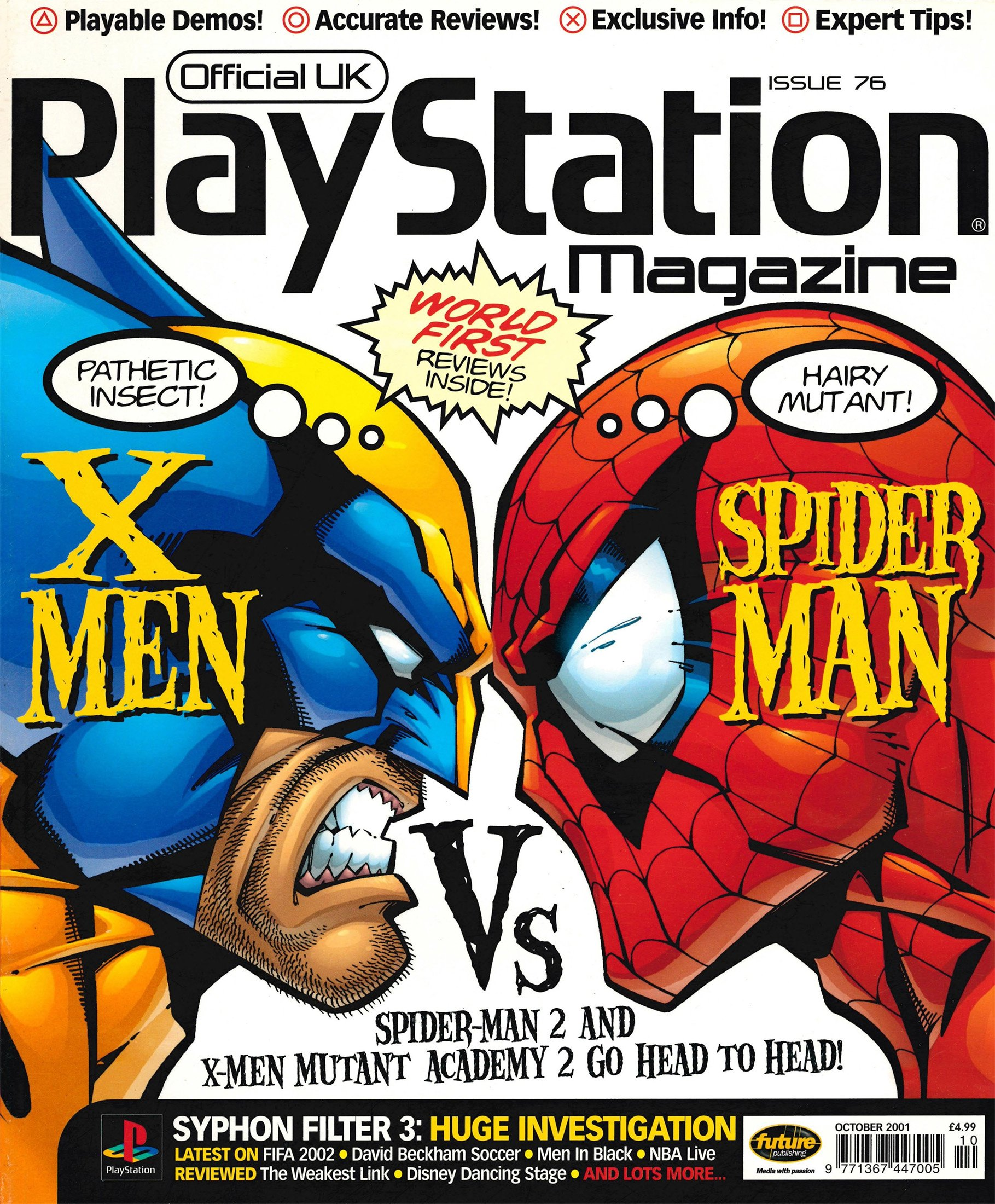 Official UK PlayStation Magazine Issue 076 (October 2001)