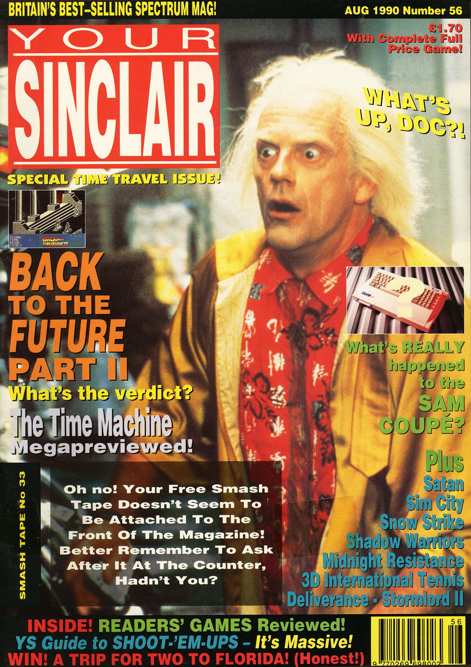 Your Sinclair Issue 56 (August 1990)