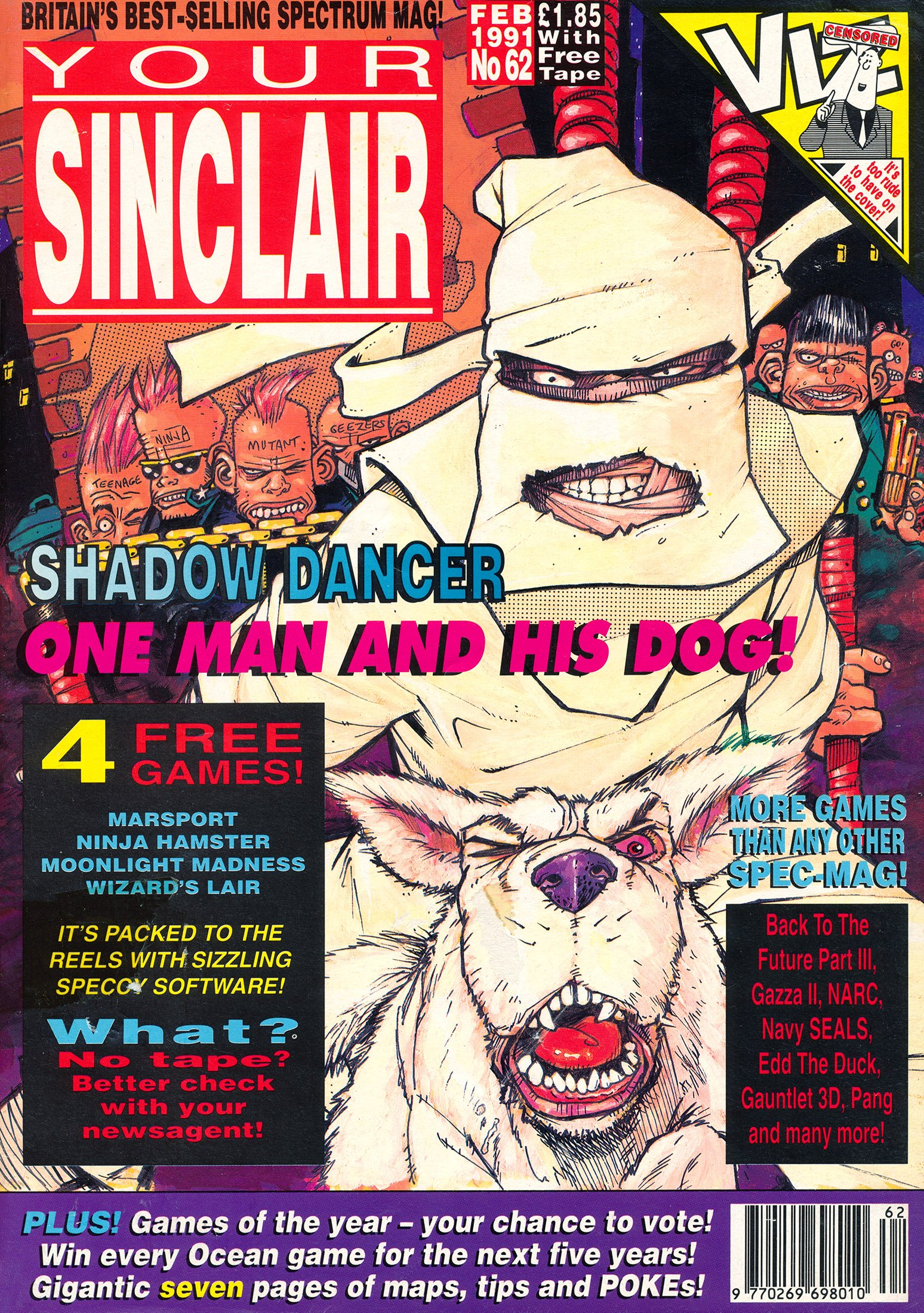 Your Sinclair Issue 62 (February 1991)