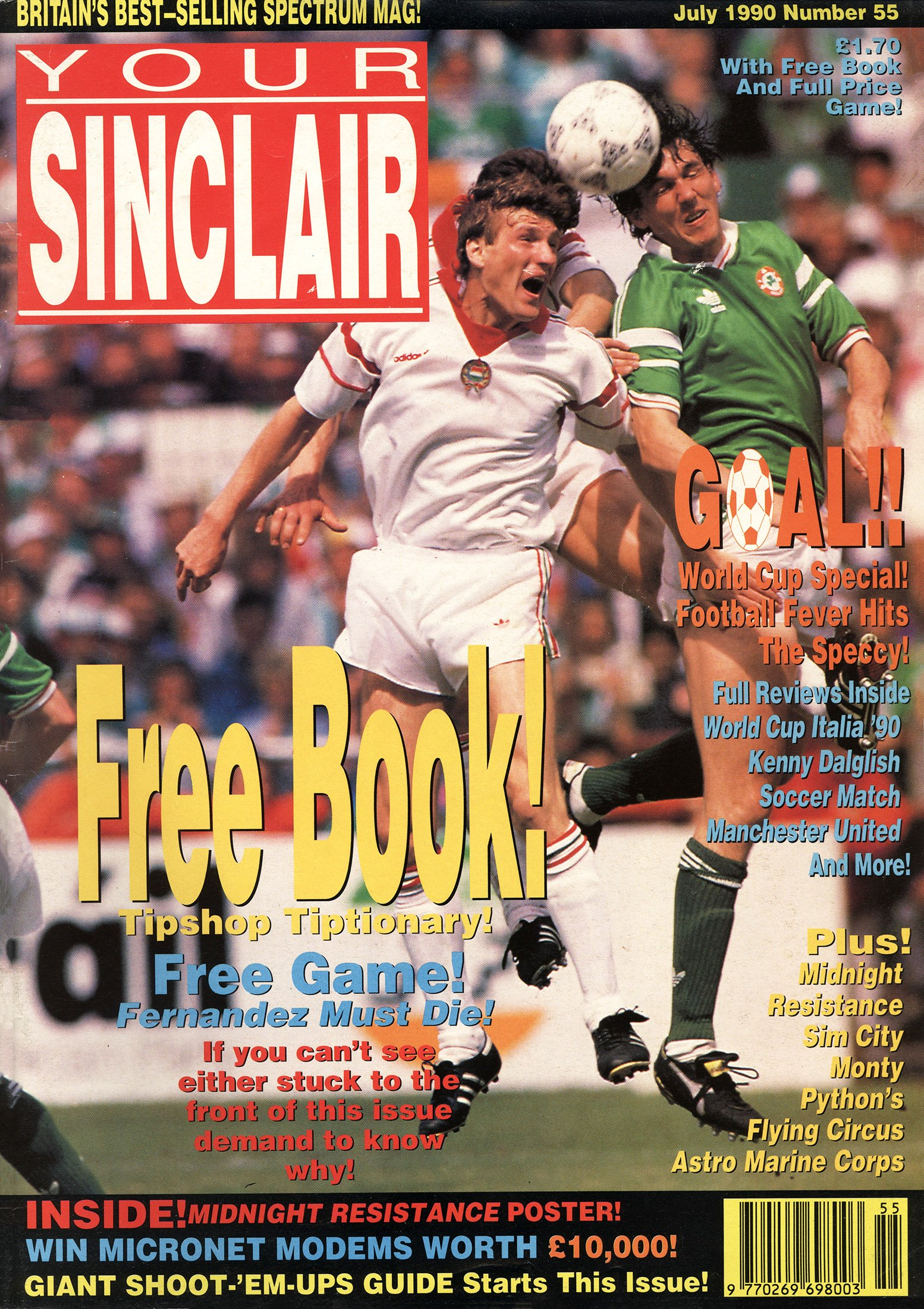 Your Sinclair Issue 55 (July 1990)