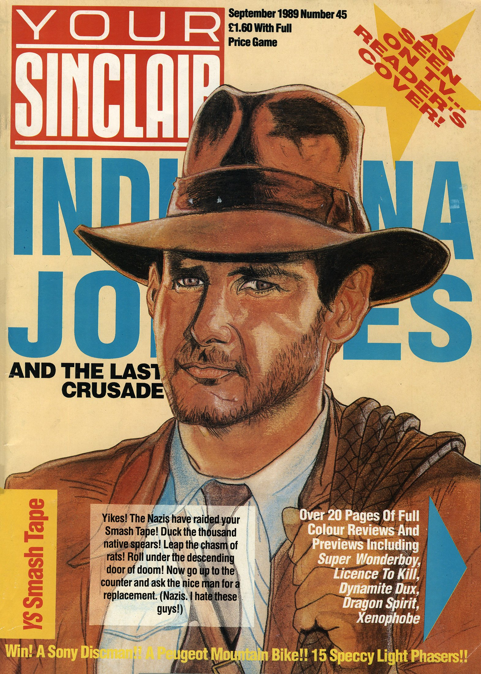Your Sinclair Issue 45 (September 1989)