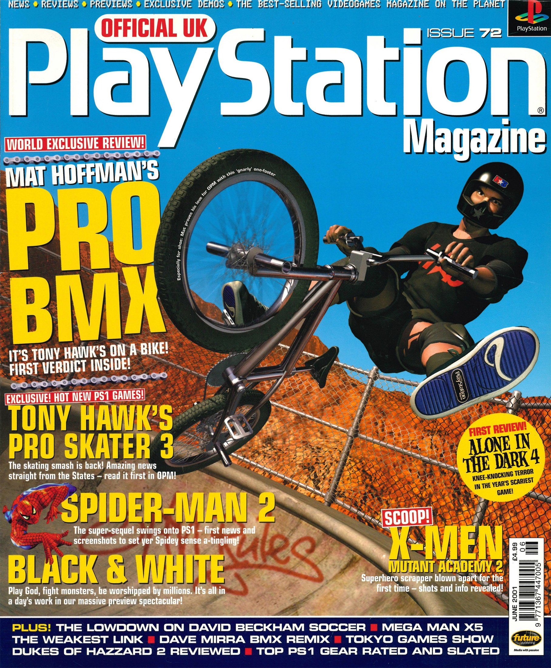 Official UK PlayStation Magazine Issue 072 (June 2001)