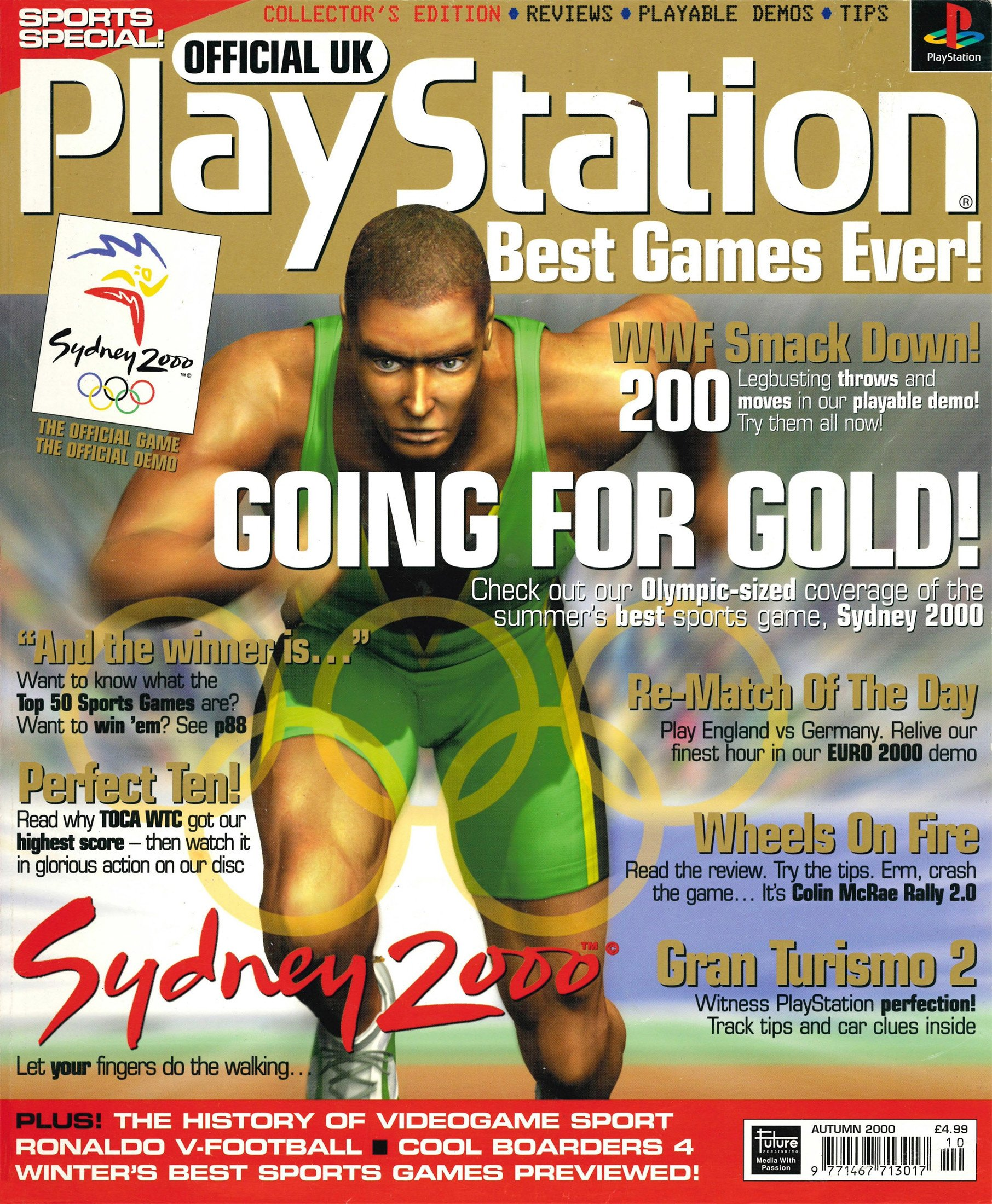 Official Playstation Magazine UK Sports Special (Autumn 2000)