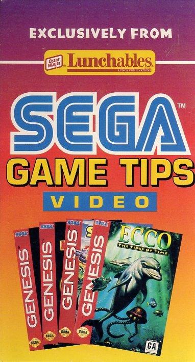 Lunchables Sega Game Tips Video (VHS) (Front)