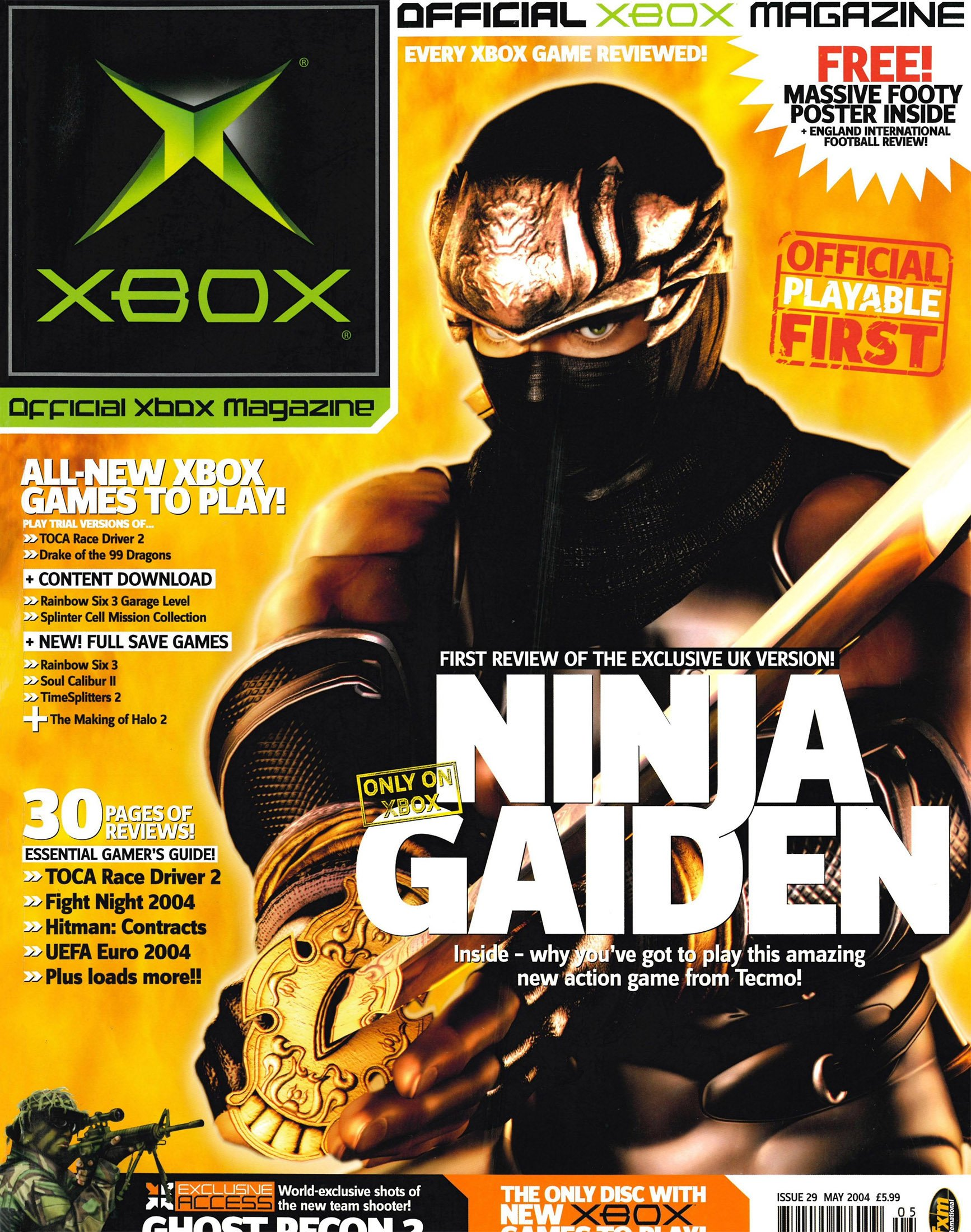 Official UK Xbox Magazine Issue 29 - May 2004