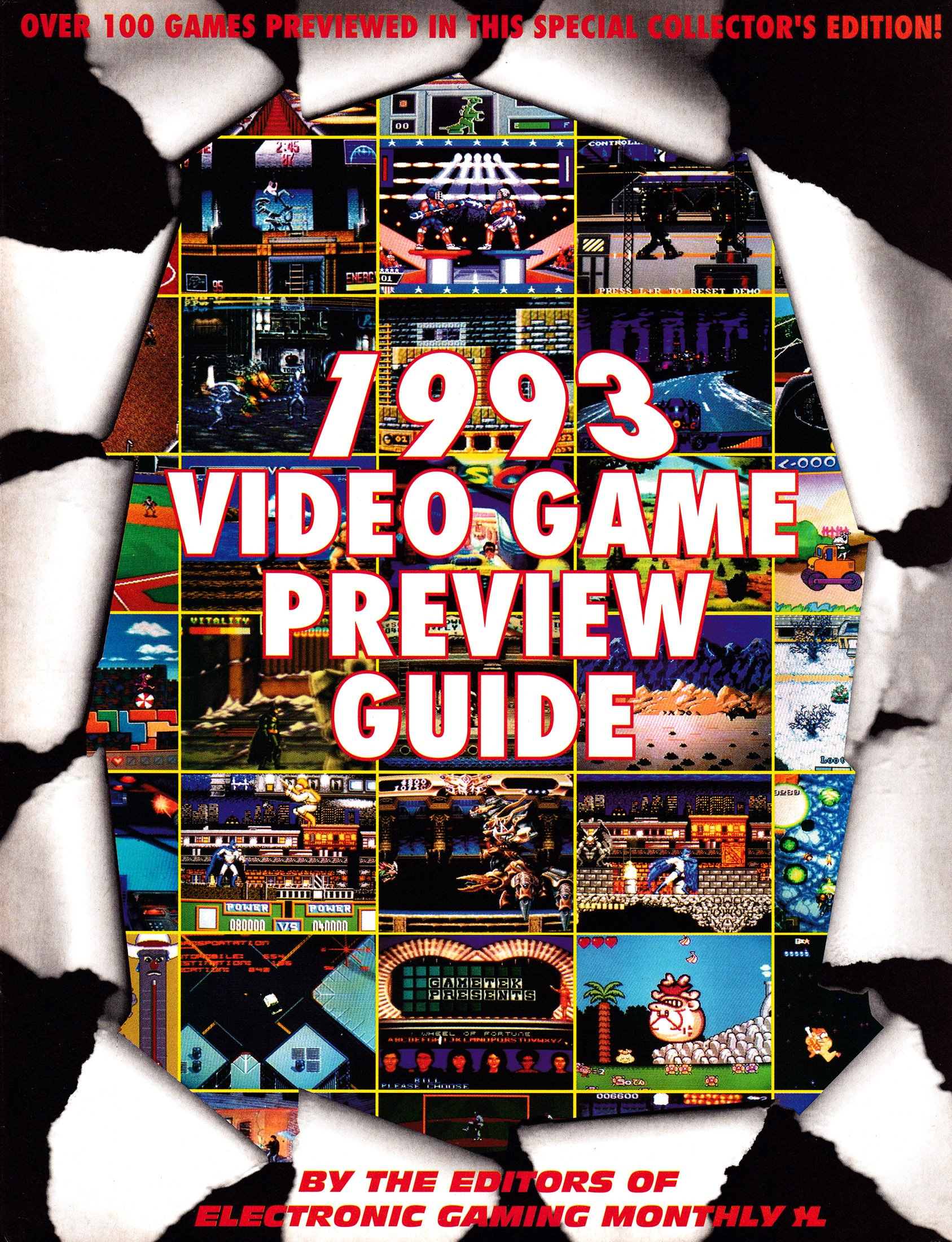 EGM 1993 Video Game Preview Guide