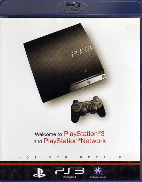 PlayStation 3 Welcome Disc (Blu-Ray) (Front)