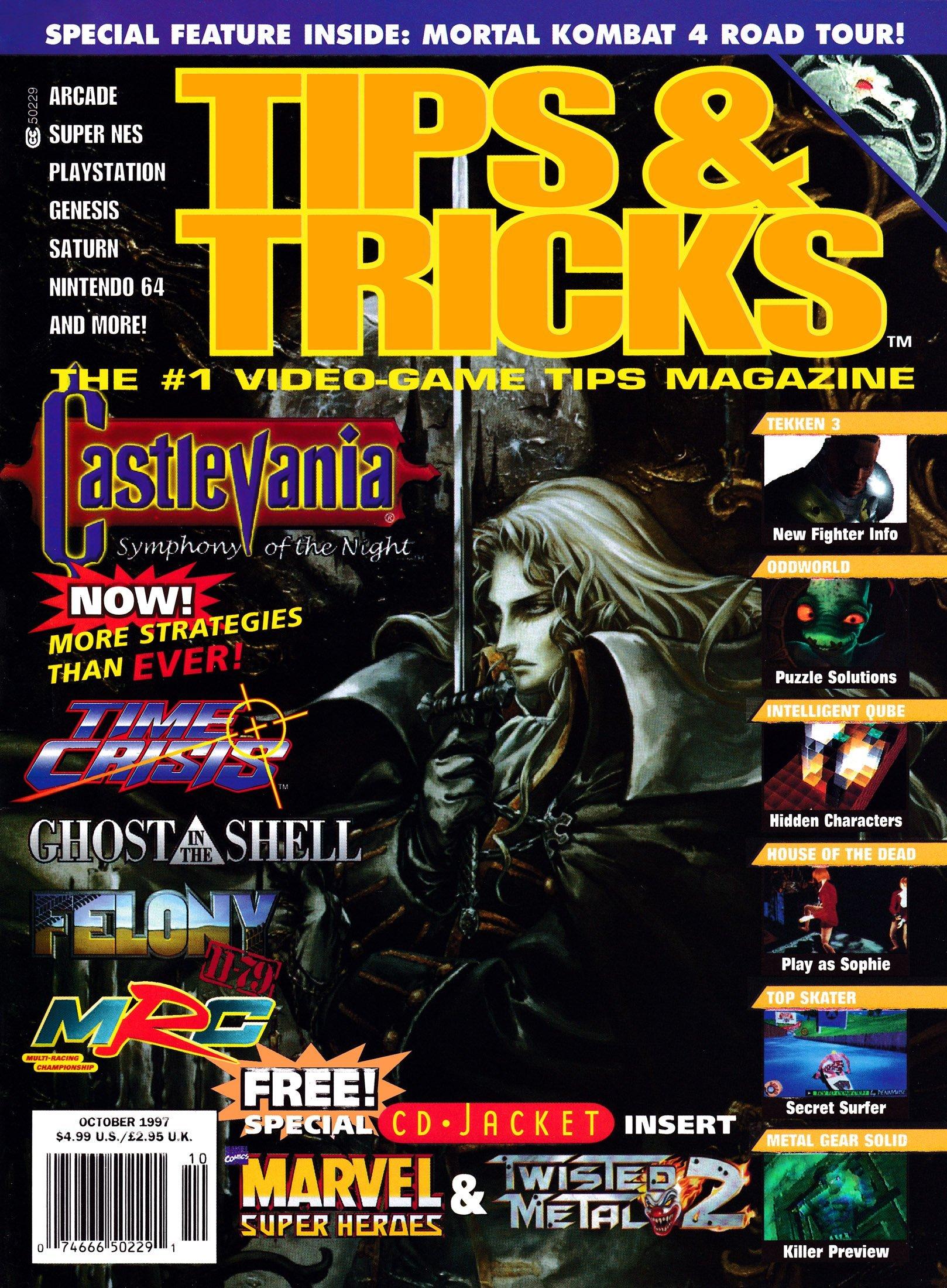 Tips & Tricks Issue 032 October 1997
