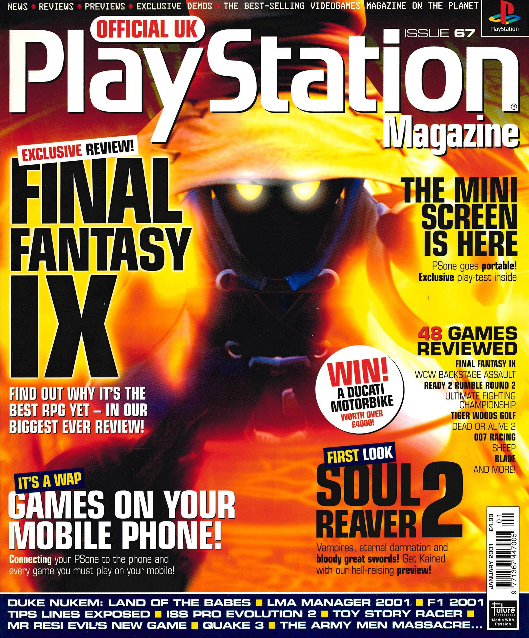 Official UK PlayStation Magazine Issue 067 (January 2001)